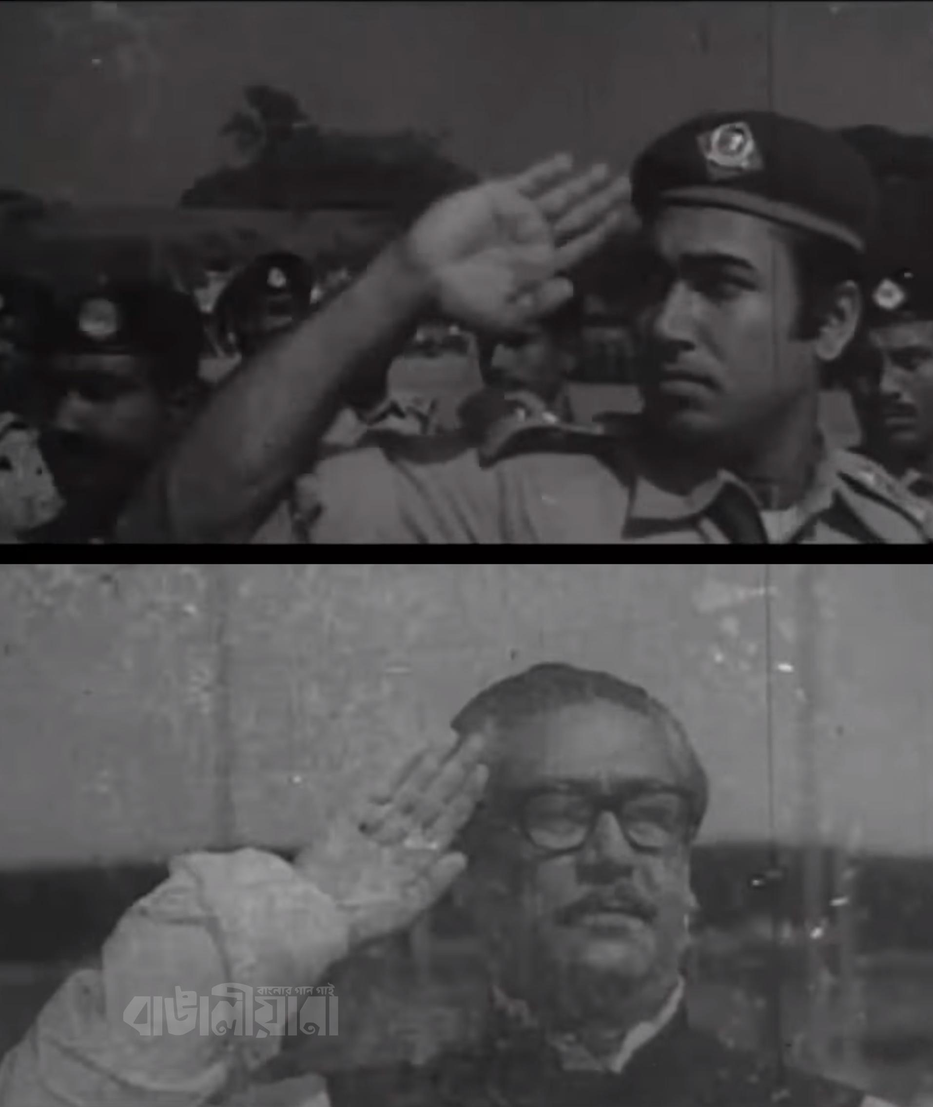 bongobondhu & khosru(salute)