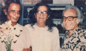 S M Sultan With Ahmad Chafa & Samsur Rahman